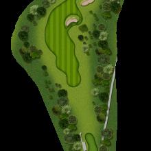 Moors Valley Golf Club hole 1