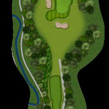 Moors Valley Golf Club hole 12