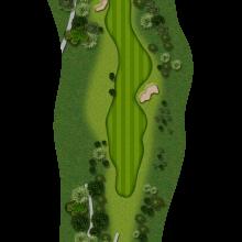 Moors Valley Golf Club hole 14