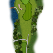 Moors Valley Golf Club hole 16