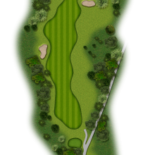 Moors Valley Golf Club hole 18