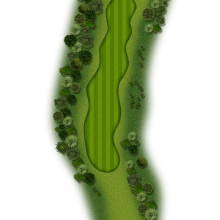 Moors Valley Golf Club hole 2