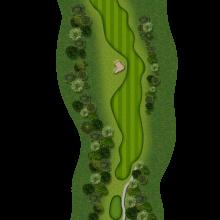 Moors Valley Golf Club hole 3