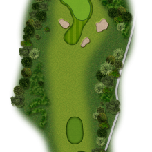 Moors Valley Golf Club hole 4