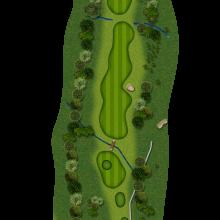Moors Valley Golf Club hole 7