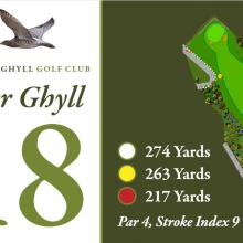 Bracken Ghyll Golf Club Tee 18.JPG