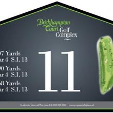 Brickhampton Court Golf Club Tee 11.JPG