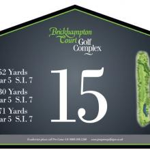 Brickhampton Court Golf Club Tee 15.JPG
