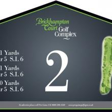 Brickhampton Court Golf Club Tee 2.JPG