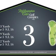 Brickhampton Court Golf Club Tee 3.JPG