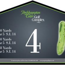 Brickhampton Court Golf Club Tee 4.JPG