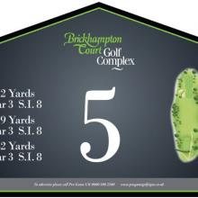 Brickhampton Court Golf Club Tee 5.JPG