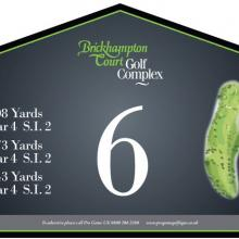 Brickhampton Court Golf Club Tee 6.JPG