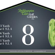 Brickhampton Court Golf Club Tee 8.JPG