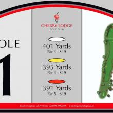 Cherry Lodge Golf Club Tee 1.JPG