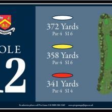 Churchill  Blakedown Golf Club Tee 12.JPG