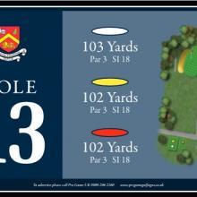 Churchill  Blakedown Golf Club Tee 13.JPG