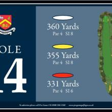 Churchill  Blakedown Golf Club Tee 14.JPG