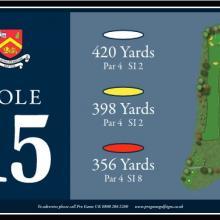 Churchill  Blakedown Golf Club Tee 15.JPG