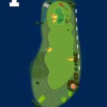 Frinton Golf Club Hole 1