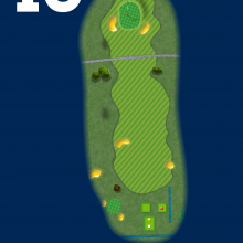Frinton Golf Club Hole Plan 10