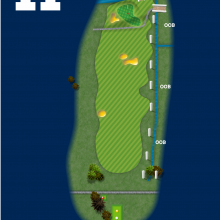 Frinton Golf Club Hole Plan 11