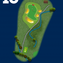 Frinton Golf Club Hole Plan 13