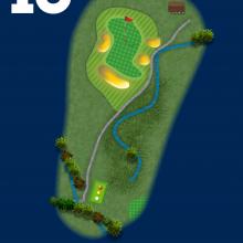 Frinton Golf Club Hole Plan 13