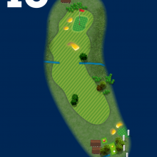 Frinton Golf Club Hole Plan 15