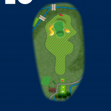 Frinton Golf Club Hole Plan 16