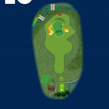Frinton Golf Club Hole Plan 16