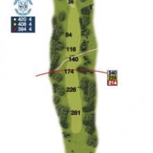 Heaton Moor Golf Club Hole 14