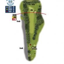 Heaton Moor Golf Club Hole 16