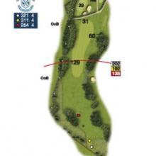 Heaton Moor Golf Club Hole 18
