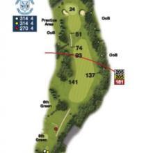 Heaton Moor Golf Club Hole 9