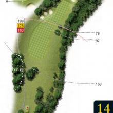 Leatherhead Golf Club Hole 14