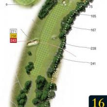 Leatherhead Golf Club Hole 16