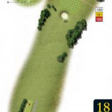 Leatherhead Golf Club Hole 18