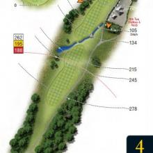 Leatherhead Golf Club Hole 4