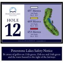 Peterstone Golf Club Hole 12