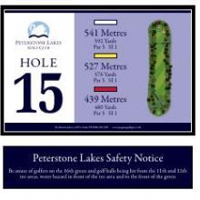 Peterstone Golf Club Hole 15
