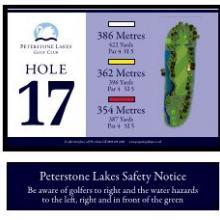 Peterstone Golf Club Hole 17