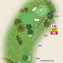 Stevenage golf club hole 14