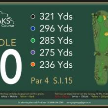 The Oaks Golf Club Hole 10