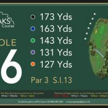 The Oaks Golf Club Hole 16