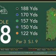 The Oaks Golf Club Hole 18