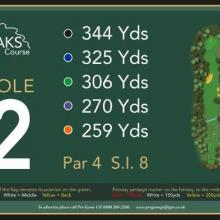 The Oaks Golf Club Hole 2
