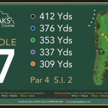 The Oaks Golf Club Hole 7