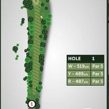 Windmill Hill Golf Club Hole 1