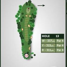 Windmill Hill Golf Club Hole 13